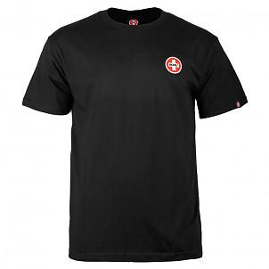 Bones® Bearings Small Swiss Logo T-Shirt - Black