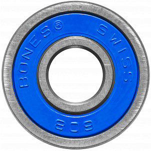 Bones® Super Swiss 6 Skateboard Bearing 8mm Single