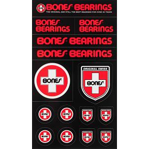 Bones Bearings Swiss Multi Sticker 10pk