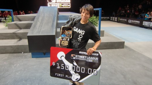 Sean Malto Wins Street League