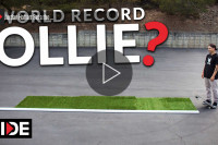 Jordan Hoffart - World Record Ollie