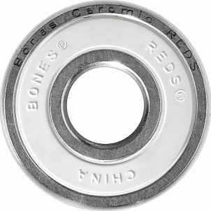 Bones® Ceramic Super REDS® Skateboard Bearing Single