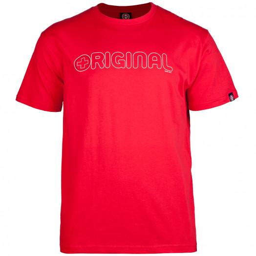 Bones® Bearings Original Swiss T-shirt - Red